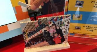 【朗報】レゴランドさん、撮った写真をレゴブロックにする粋なサービスを提供する
