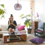 『一人暮らしのまったり空間♪アジアンテイストインテリア集 【インテリアまとめ・一人暮らし 照明 】』の画像