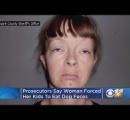 飢えた幼い我が子に犬の糞を無理やり食べさせた母親(34)が逮捕も実刑を免れる【オクラホマ州】