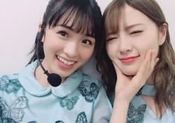 【最高】白石麻衣×大園桃子、ぐうかわな2ショット・・・!
