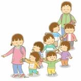 『【クリップアート】誘導ロープでお散歩をする子供のイラスト』の画像