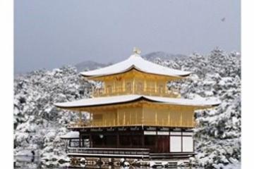 海外「なんて美しい国」雪が積もった金閣寺が美しすぎると海外で話題騒然