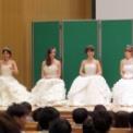 日本大学生物資源学部藤桜祭2014 ミス&ミスターNUBSコンテスト2014の36(審査結果を待つミスNUBS候補4人)