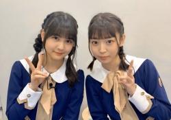 【ぐうかわ】阪口珠美&中村麗乃、三つ編みおさげが素敵すぎるwwwww
