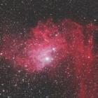 『何だこれ?ラクダの横顔星雲(IC405勾玉星雲のアップ)』の画像
