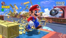 【ゲーム】  巨大なマリオが 暴れまくる!?  WIIU新作 スーパーマリオ3ワールド が 11月21日に発売するぞ!!  海外の反応