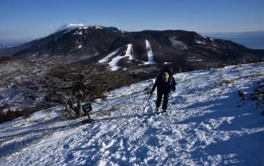 『雪山登山☆湯ノ丸山へ♩』の画像