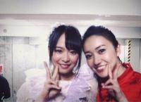 倉野尾成美が大島優子との2ショットを公開!→写真を撮ったときのことをSRで語る