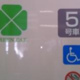 『全特急列車に本格的グリーン車の設置を』の画像