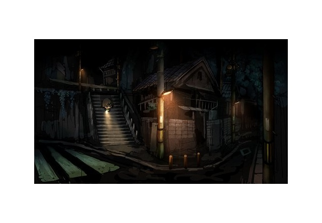 深夜の街を散歩するだけのゲームwwwwwwwwww