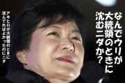 中国ネット民「愛する朴大統領がピンチ、みんなで応援しよう!」