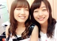 【AKB48】加藤玲奈と篠崎彩奈の菩薩顔に癒やされる