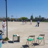 『とある市内の日曜日(ソフトボールと狂言)』の画像