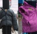 カナダやアメリカなどで街灯にコートをくくりつける活動が流行る←普通に寄付しろよ...