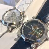 『デカ厚のレディース時計、ガランテ』の画像