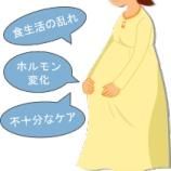 『妊娠と歯周炎【篠崎 ふかさわ歯科クリニック】』の画像