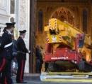 フィレンツェの教会で石が落下 観光客1人死亡