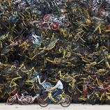 『中国シェアサイクルの破たん』の画像