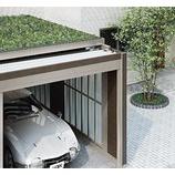 『駐車場の緑化』の画像