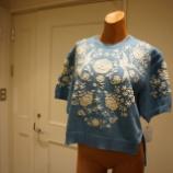 『KEITAMARUYAMA(ケイタマルヤマ)Vintage embroidery knit PO』の画像