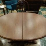 『【2015年サマーセール】オールドチャーム・オーバルダイニングテーブル・OC2472-DA-DAに柏木工・レイチェアをセット』の画像