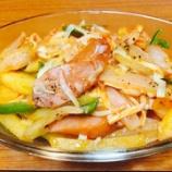『[15分料理]えのき入りナポリタン風野菜炒め』の画像