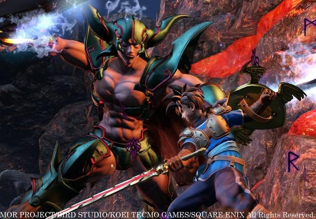 【ドラゴンクエスト ヒーローズ】DLC第三弾が動画公開!「破壊と殺戮の神バトル+サブストーリー・テリー編」