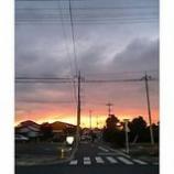 『鮮やかな夕焼け』の画像