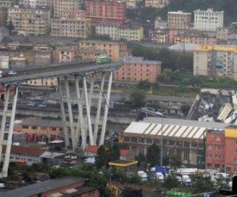 【イタリア】高速道路の高架崩落、35人死亡 危険性以前から指摘  「悲劇がいつ起きてもおかしくない状況だった」