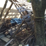 『小屋解体』の画像