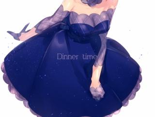 【FGO】カルデアディナータイムのドレスマシュイラスト!! 大人っぽいマシュも最高なんだよなぁ!!