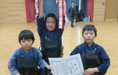 『下関市スポーツ少年団剣道大会。』の画像