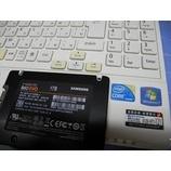 『NEC LaVie LM750/E SSD換装作業』の画像