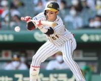 【阪神】中野拓夢4戦連続犠打で均衡破る1点呼ぶ、弾いた球カバーする好守備も