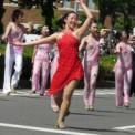 2013年横浜開港記念みなと祭国際仮装行列第61回ザよこはまパレード その83(ザ・ヨコハマスカウツドラム&ビューグルコー/ヨコハマリトルメジャレッツ)の2