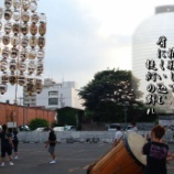 『竿灯祭り練習風景』の画像