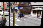 【捕り物】「撃て!撃て!」 警察官とクロネコヤマト従業員が刃物男を捕獲/東京・目黒(動画あり)
