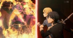 【SAO アリシゼーション】第14話 感想 襲い来る紅蓮の弓矢【ソードアート・オンライン】