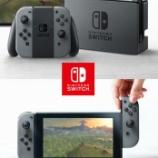 『任天堂の新ゲーム専用機の名はNintendo Switch!』の画像