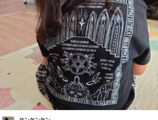 BABYMETAL「ベビメタツイート集:Tシャツ」