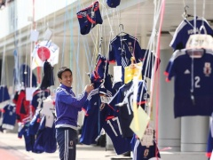 【画像】日本代表の練習会場の光景が異常すぎる!www