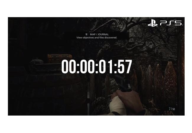 『バイオハザード8』ロード時間比較 PS5は1.57秒 XSXは8.47秒 7秒の差に