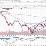 『【原油】強気のトレンドチャネル崩壊!原油は38ドルを目指す!』の画像