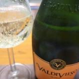 『チリ産スパークリングワイン~VALDIVIESO BRUT(バルディビエソ・ブリュット)』の画像
