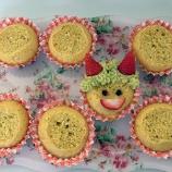 『手作りおやつ(オニのカップケーキ)』の画像