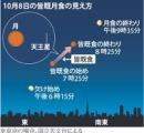 【怪奇】皆既月食:8日夜、全国で広く観測 午後7時25分~