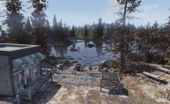 スプルース・ノブ湖(Spruce Knob Lake)