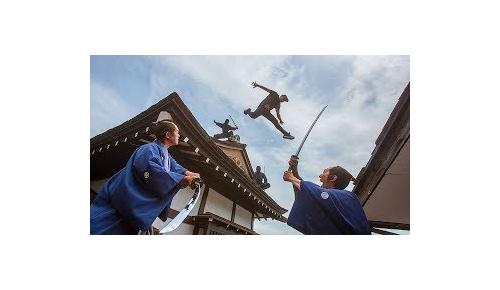 江戸時代を逃走するパルクール動画が海外で大人気、ジェイソン・ポール最新作