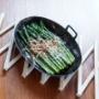 槙塚鉄工所「フライパンディッシュ」 一目惚れの別注オーバル♪使う人が育てる鉄の道具
