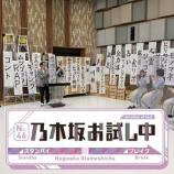 『予想以上にカオスな内容www 新番組『乃木坂お試し中』ついに初オンエア!!!キャプチャまとめ!!!』の画像